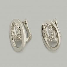 Срібні сережки АМ-1155075б