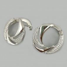 Серебряные серьги АМ-1155271