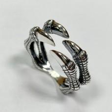 Серебряное кольцо Коготь стк-249