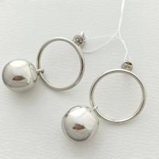 Серебряные сережки ЗЛ-2700177