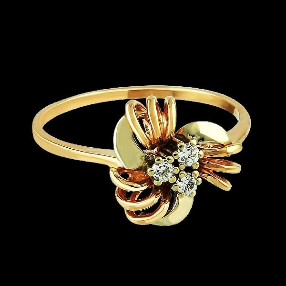 Золотое кольцо аг-111144