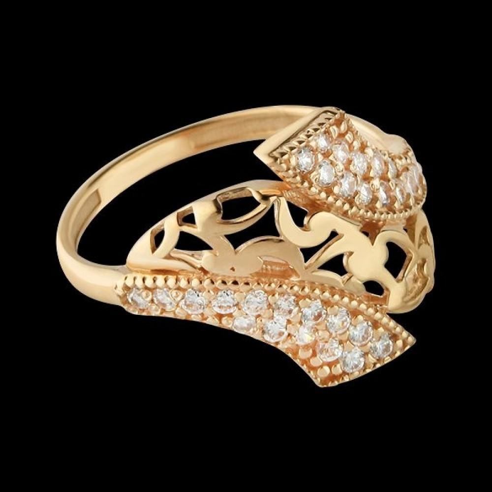 Золотое кольцо аг-111415