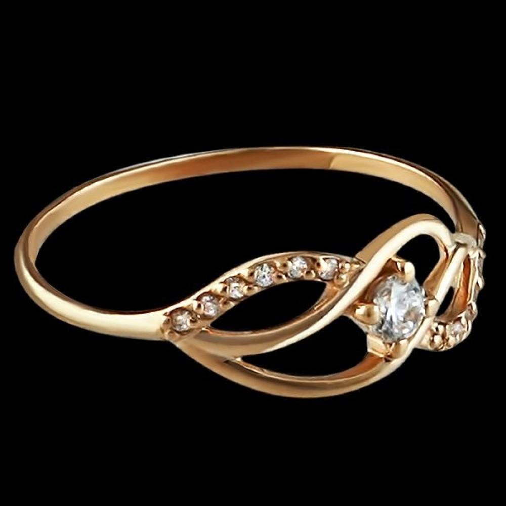 Золотое кольцо аг-1710247