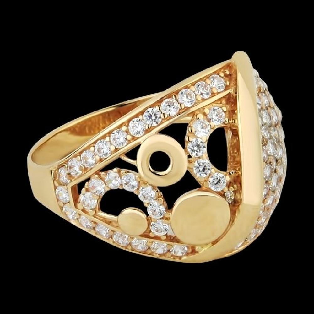 Золотое кольцо аг-1710298