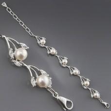 Срібний браслет Наречена ХЮ-168016