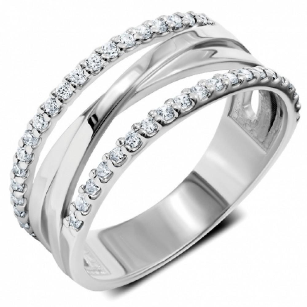 Серебряное кольцо ЛЗ-19080