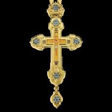 Крест наперсный латунный 2.10.0103ЛП-21ЛП