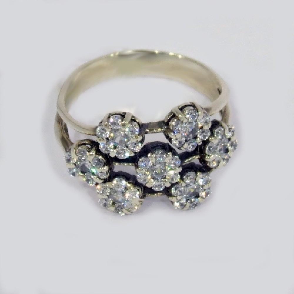 Серебряное кольцо бр-2111906