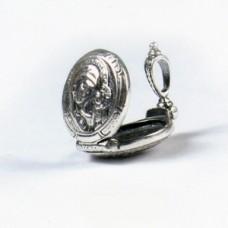 Серебряная подвеска складень Божия Матерь стл-25