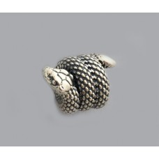 """Серебряная бусина """"Змея"""" бр-0059231"""