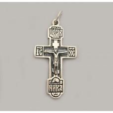 Срібний хрестик бр-0062431