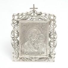 """Икона серебряная """"Казанская БМ"""" бр-00139"""