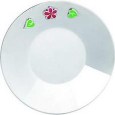 """Серебряная тарелка """"Цветочек"""" ХЮ-080502"""