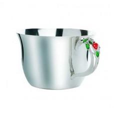 """Срібна чашка """"Божа корівка"""" ХЮ-080326"""