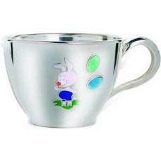 """Срібна чашка """"Порося"""" ХЮ-080496"""