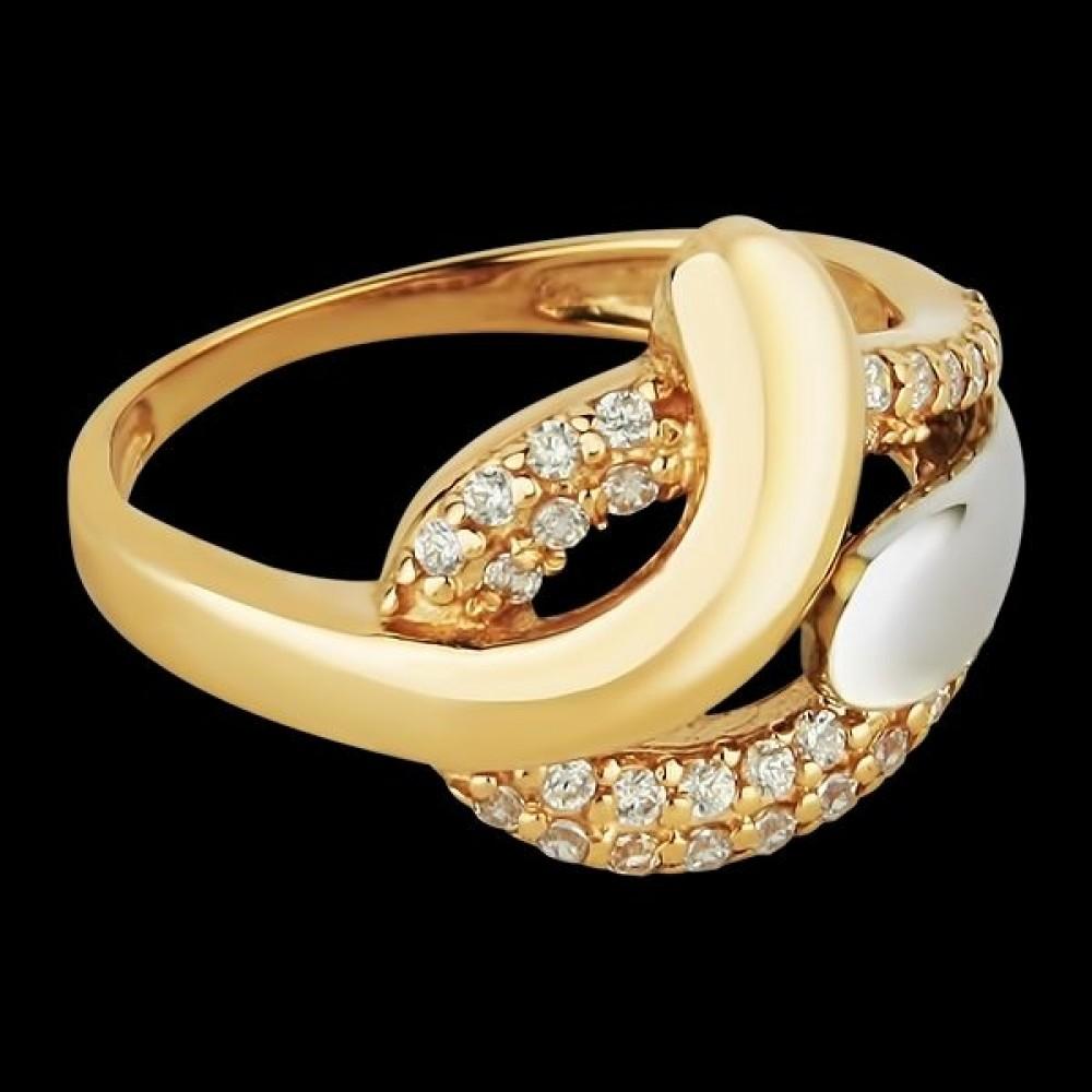 Золотое кольцо аг-111233