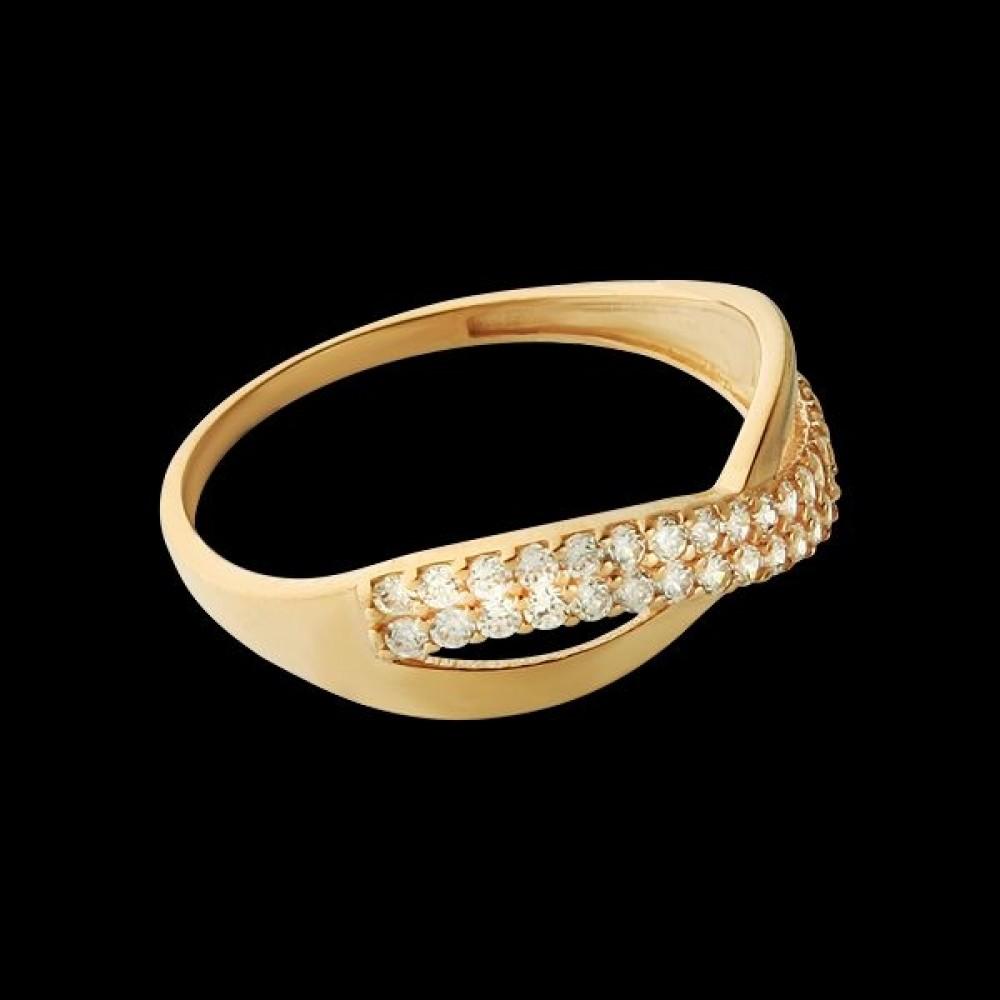 Золотое кольцо аг-1710334