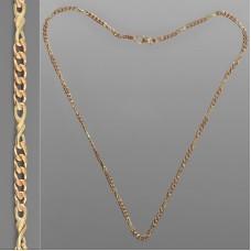 Золотая цепочка Картье с бантиком 50см 1098/1
