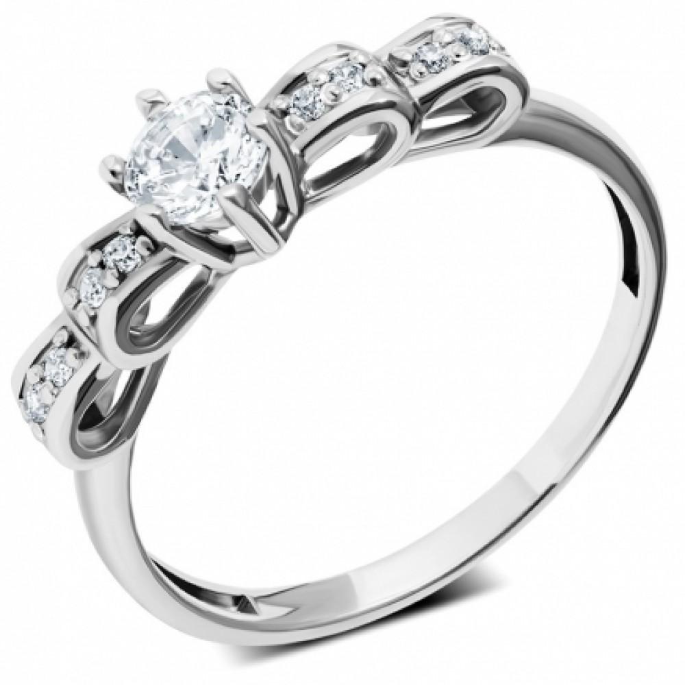 Серебряное кольцо ЛЗ-19078