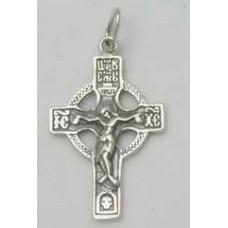 Срібний хрестик 60