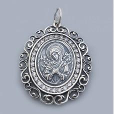 Серебряная ладанка  Семистрельная БМ  бр-1108831