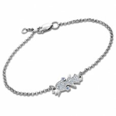 Срібний браслет Принцеса ЛЗ-4658