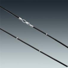Шнур каучуковый с серебром ЛЗ-6002