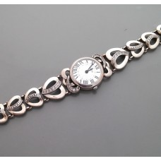 Серебряные часы 60 БР-1004871
