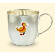 """Срібна чашка """"Каченя"""" АГ-2.8.0108"""