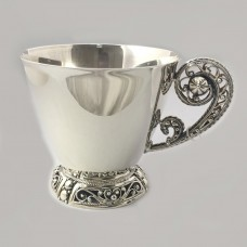 Срібна чашка бр-100026