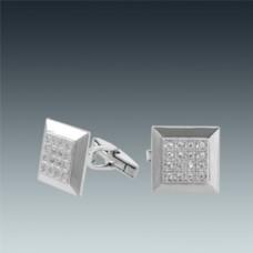 Серебряные запонки ЛЗ-8715