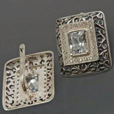 Срібні сережки Презент ХЮ-022789