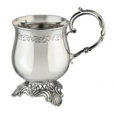 Серебряная кофейная чашка АГ-2.8.0182