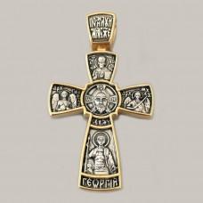 Срібний хрестик ЛЗ-34021