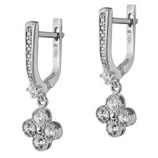 Серебряные серьги ЮМ-20432