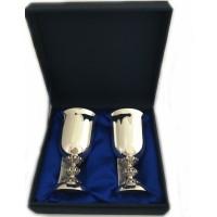 Набор серебряных бокалов для вина бр-00013/2