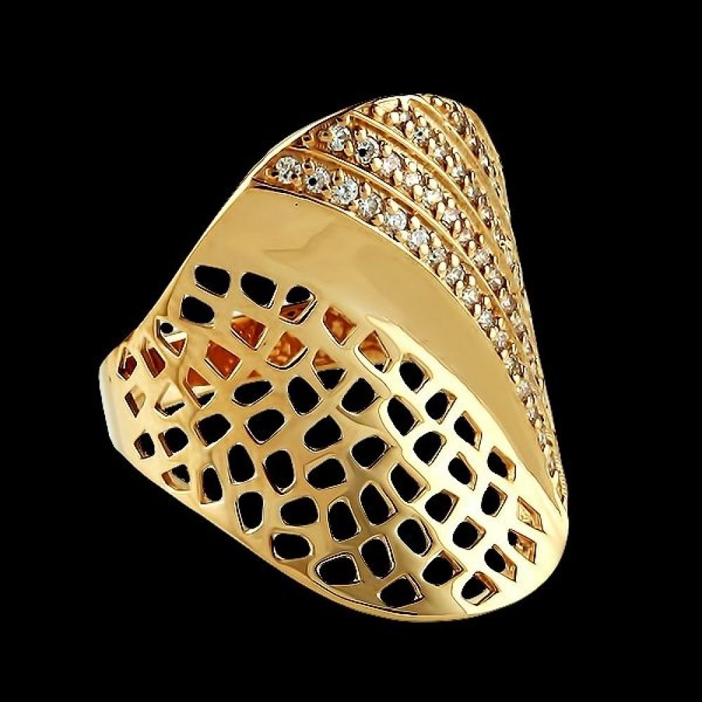 Золотое кольцо аг-111166