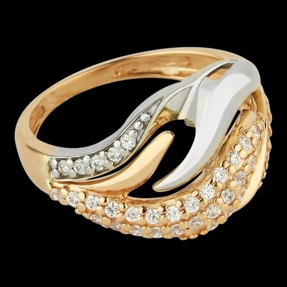 Золотое кольцо аг-111225
