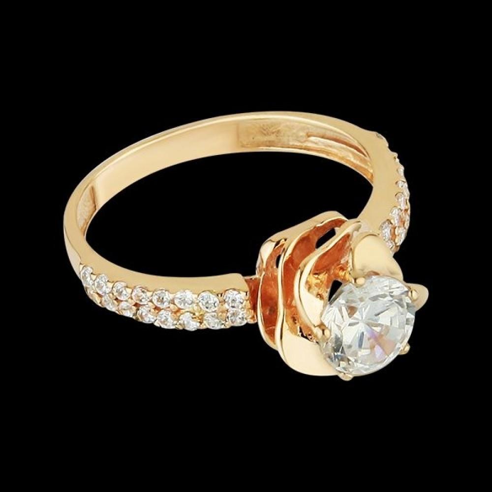 Золотое кольцо аг-111325