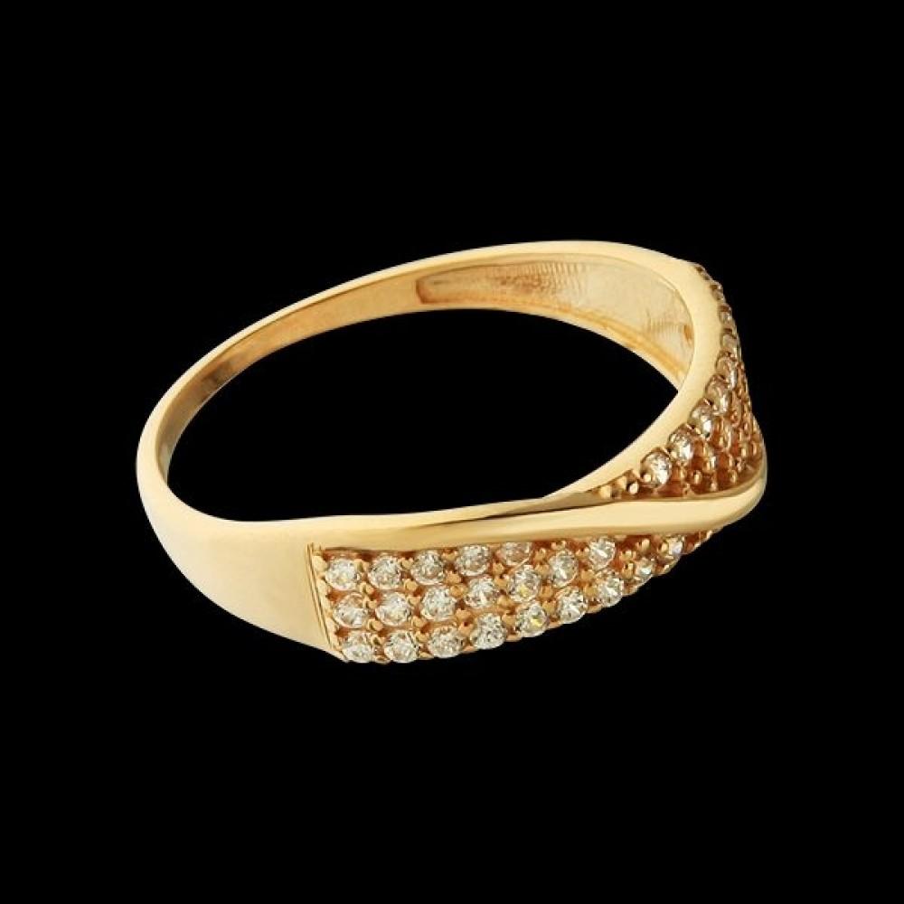 Золотое кольцо аг-111396