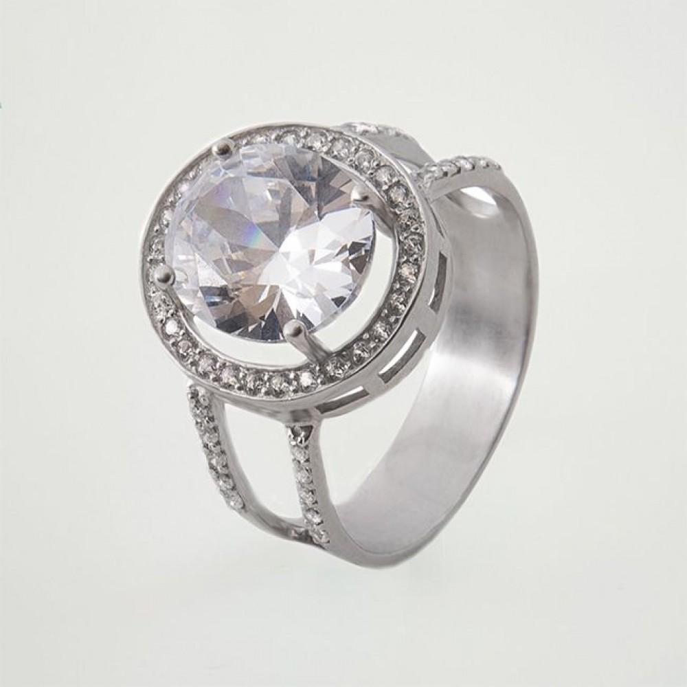 Серебряное кольцо ЮМ-10064