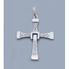 Срібний хрестик БК-170
