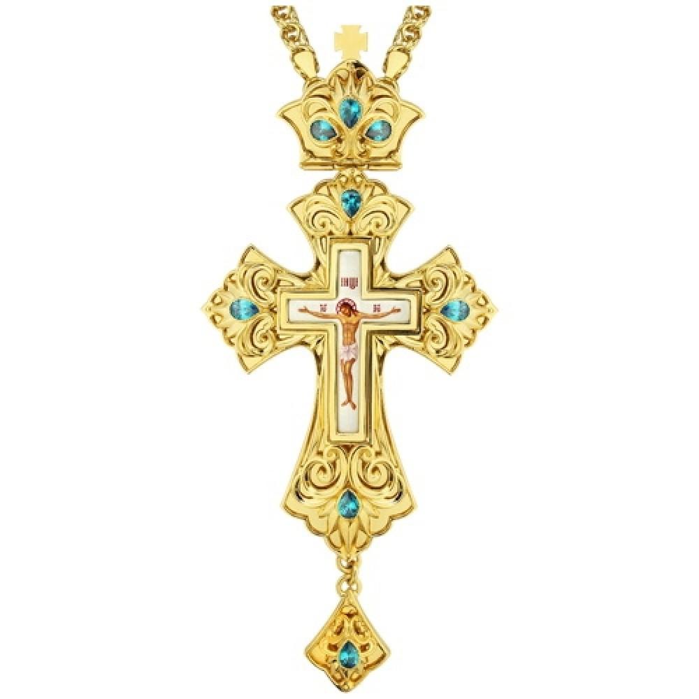 Крест латунный в позолоте 2.10.0138ЛП-21ЛП