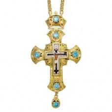 Крест наперсный латунный 2.10.0153ЛП-21ЛП