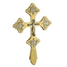 Крест напрестольный латунный 2.7.0541ЛП
