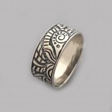 Серебряное кольцо бр-0058021