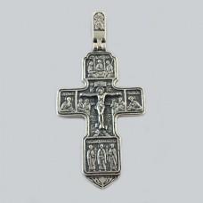Срібний хрестик 92