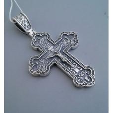 Срібний хрестик бр-3100401