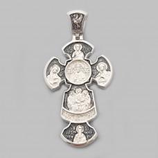 Срібний хрестик ШК-3363-М