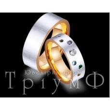 Обручальное кольцо 412437